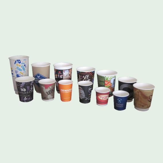 per-cups - двухслойные бумажные стаканы, стаканы для